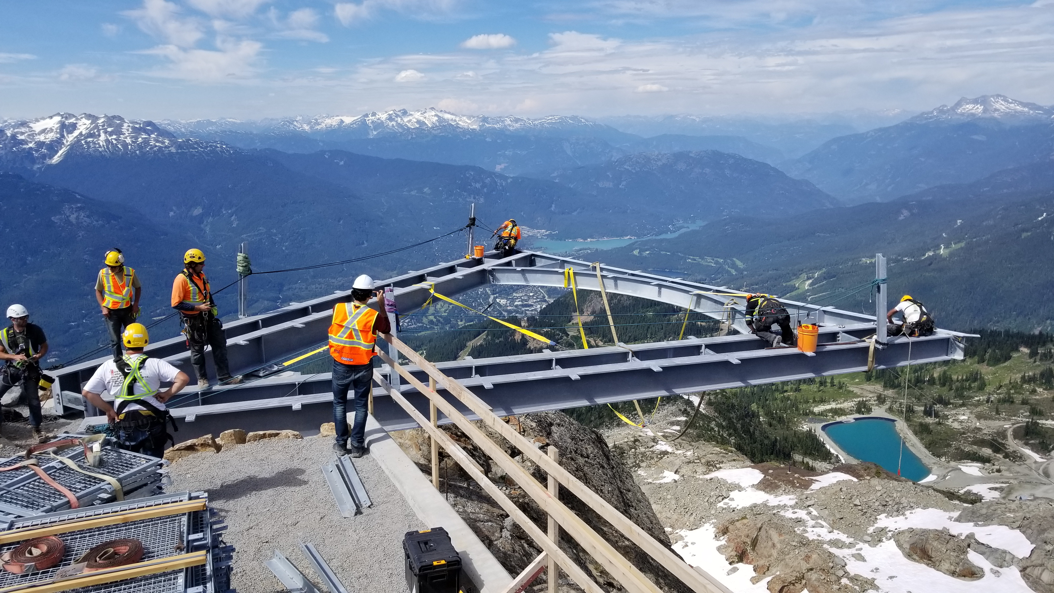 18-07-17 - Inspection of the Ravensclaw View Deck Installation 2