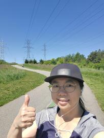 Josephine Yung - 2020 Ride for Heart Virtual Walk - JY