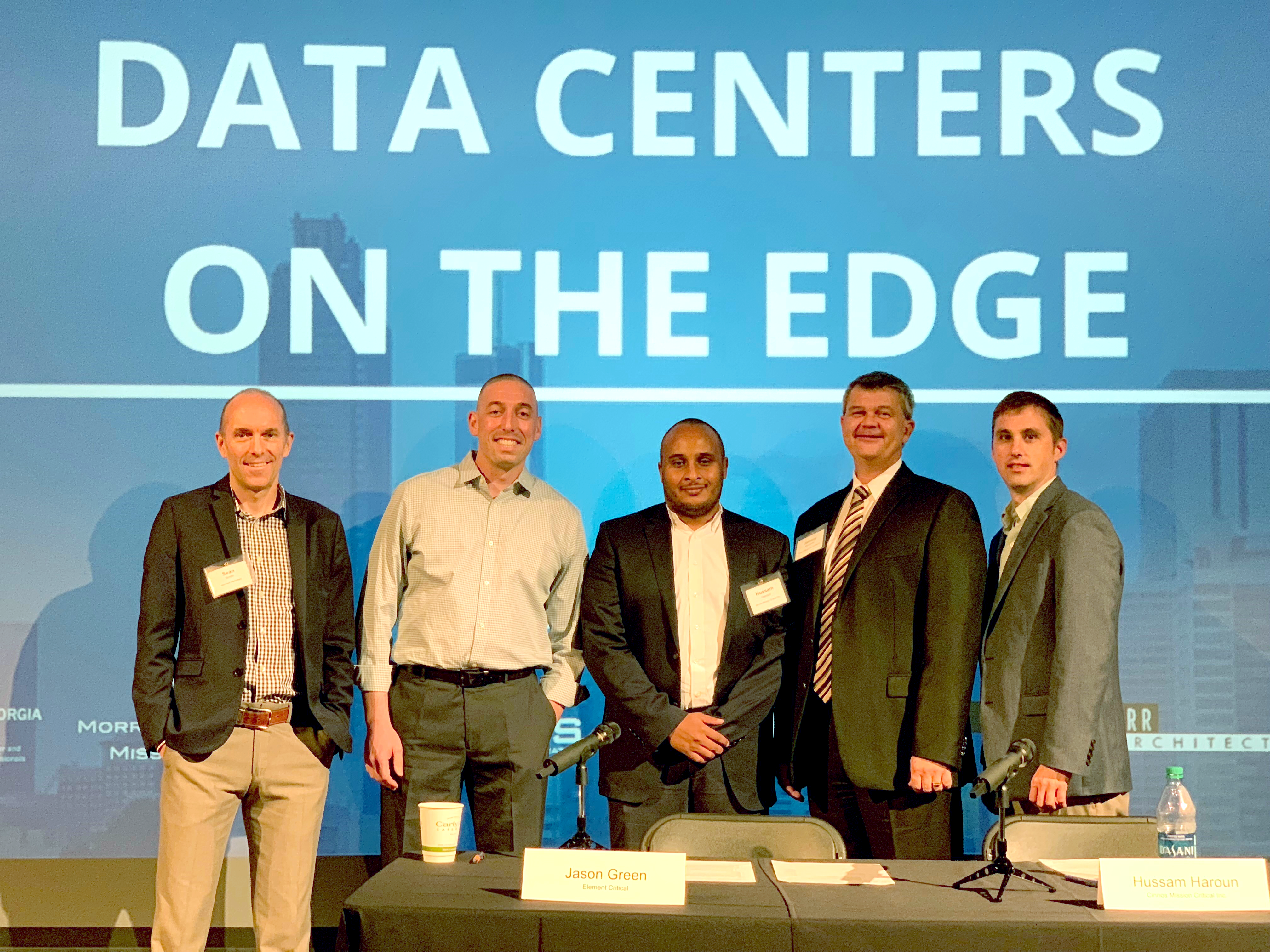 Sean, Jason, Hussam, Johnny and Dustin at Data Centers On The Edge Event 2018_edit