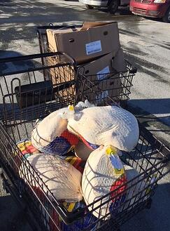 Morrison Hershfield gives back Turkeys