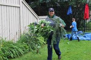 Morrison Hershfield volunteering in the Fairlea Court community