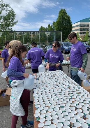 Microsoft 5K Run/Walk - Morrison Hershfield Serving Water