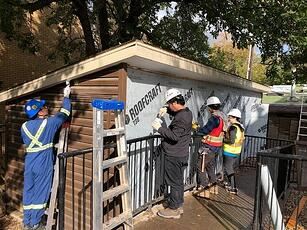 2018 Engineering Challenge Day of Caring - Working